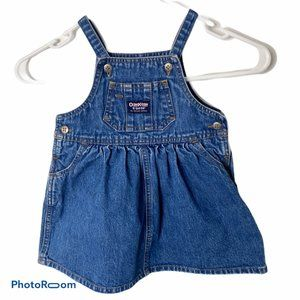 Osh Kosh Bgosh Jumper Dress Baby Girl 18 months